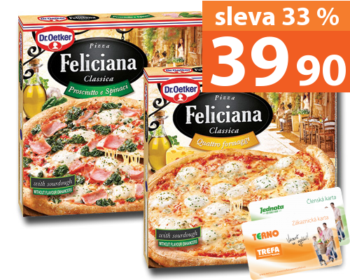 Dr. Oetker Feliciana pizza 320–360 g