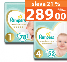 Pampers Premium Care 44–78 ks